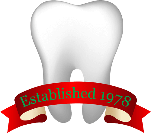 Tooth with banner